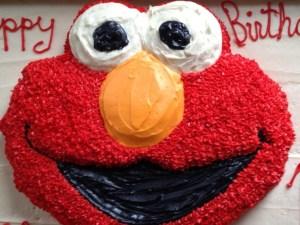 Colleen's Elmo cake!